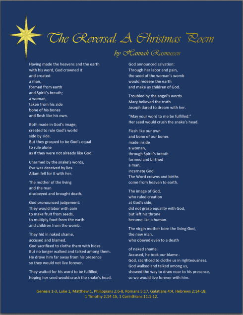 The Reversal A Christmas Poem